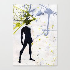 open minded Canvas Print