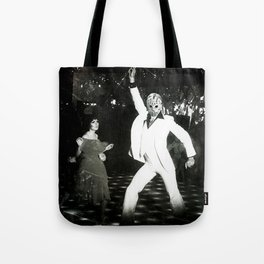JASON VORHEES AS JOHN TRAVOLTA Tote Bag