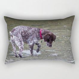German Shorthaired Pointer Dog Rectangular Pillow