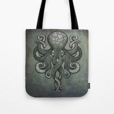 Grey Dectapus Tote Bag