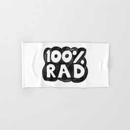 100 % RAD - Bubble Hand & Bath Towel