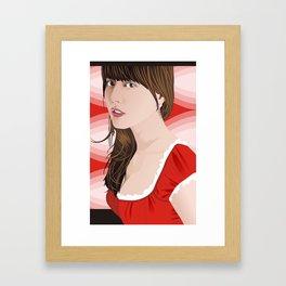 yumi Framed Art Print