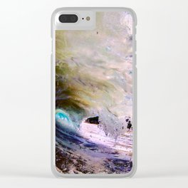 From the stars to the ground, in the water Clear iPhone Case