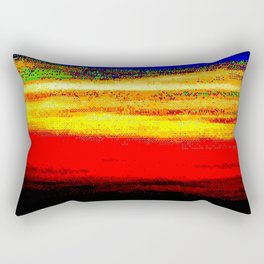 glitch nova oscar Rectangular Pillow