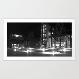 University of Lincoln  Art Print
