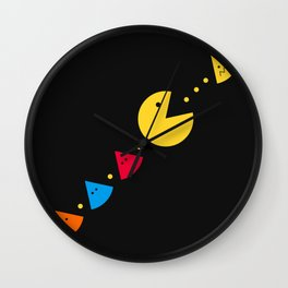 Missing Piece Wall Clock