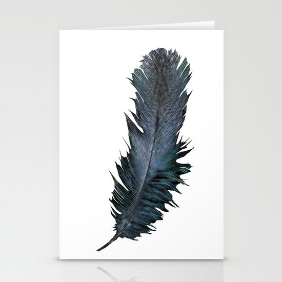 Feather - Enjoy the difference! Stationery Cards