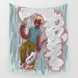 Rock and Rain Wall Tapestry