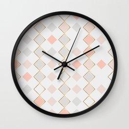 Pattern Rose Wall Clock