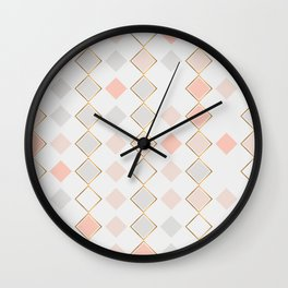 Pattern Rose Wall Clock