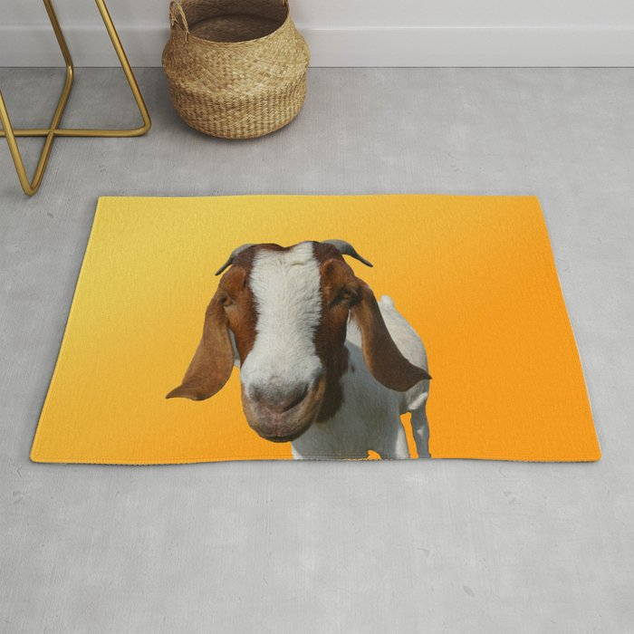 The Goat Rug by nwicha | Society6