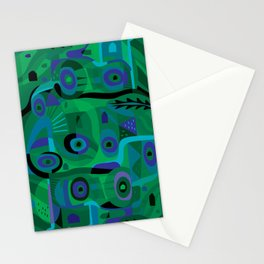 Cabins in the Sea Stationery Cards