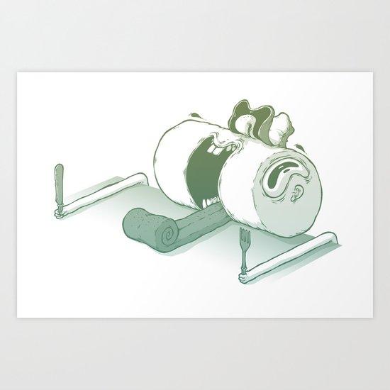 Nutrition, please! Art Print