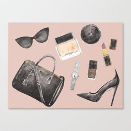 My Style Essentials n.2 Canvas Print