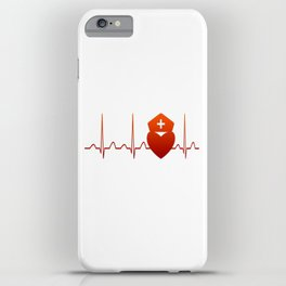 NURSE HEARTBEAT iPhone Case