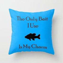 Charming Bait Throw Pillow