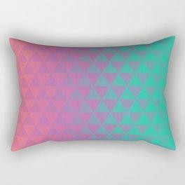 Triangular Prism Rectangular Pillow