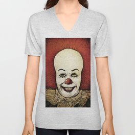It - Pennywise (Color Version) Unisex V-Neck