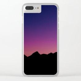 Sunset - White Pocket, Vermilion Cliffs, AZ Clear iPhone Case