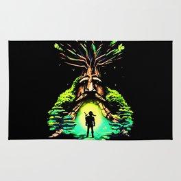magic tree Rug