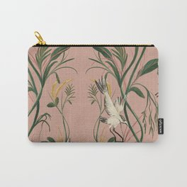 Elegant Cranes Carry-All Pouch