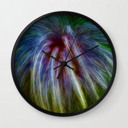 firework Wall Clock