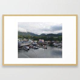 Ketchikan, Alaska Framed Art Print