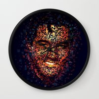 elvis Wall Clocks featuring Elvis  by Msimioni
