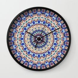 Aztec Geometry Wall Clock