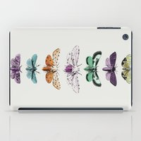 techno iPad Cases featuring Techno-Moth Collection by Zeke Tucker