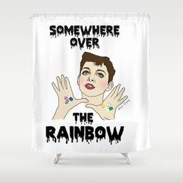 Judy Garland loves pills Shower Curtain