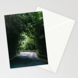 Driving the Hana Highway Stationery Cards