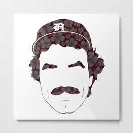 Great Mustaches - Selleck Metal Print