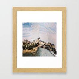 La Seine, Paris Framed Art Print