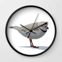 Piping Plover Wall Clock
