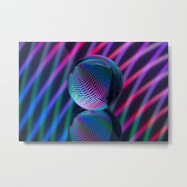 Crystal Ball 5 Metal Print
