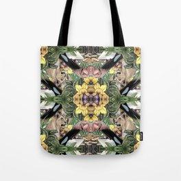 Wildlife Kaleidoscope Tote Bag