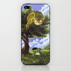 Totoro and Catbus iPhone & iPod Skin