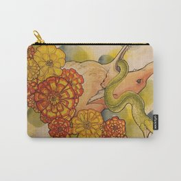 Fox and Snake Carry-All Pouch