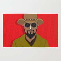 django Area & Throw Rugs featuring Django by Mohac