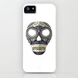 Mexican mask iPhone Case