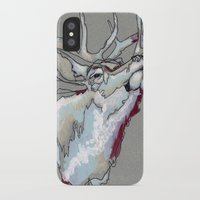 elk iPhone & iPod Cases featuring Elk by Sherie Myers