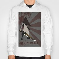 silent hill Hoodies featuring Pyramid Head - Silent Hill by BatSpats