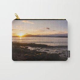 Summer Sunset Over Water Vancouver, British Columbia, Canada Carry-All Pouch