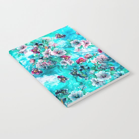 Floral Ocean II Notebook