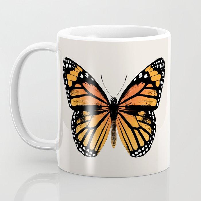 Monarch Butterfly | Vintage Butterfly | Kaffeebecher