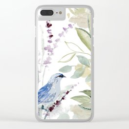 mockingbird Clear iPhone Case