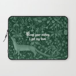 Keep Your Money Laptop Sleeve
