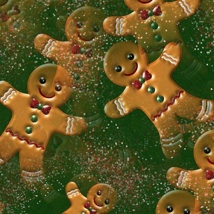 Gingerbread Man Leggings