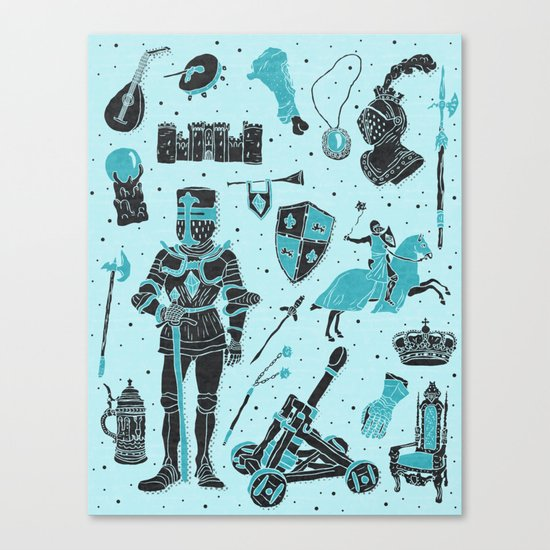 Knightly Tales Canvas Print